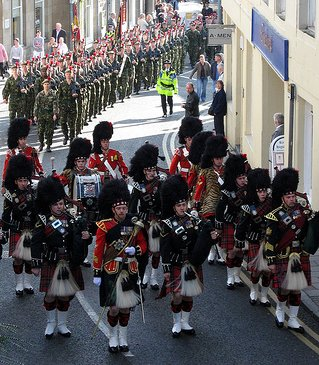 an overview of the black watches if the scottish army