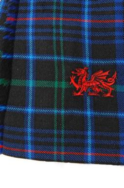 Welsh dragon embroirded on a Welsh kilt