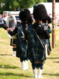 kilt Scotland photos military drummers