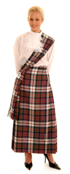 ladies evening kilt