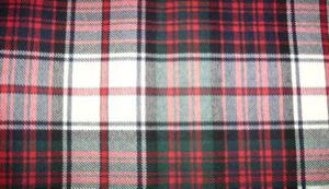 different tartans Macdonald dress