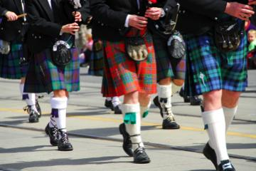 kilt Scotland photos pipe band