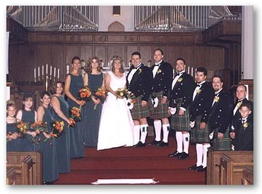 Scottish Irish Irish wedding group