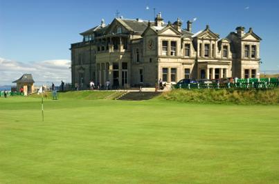 kilt Scotland photos clubhouse St Andrews