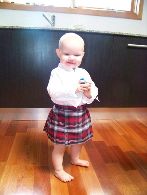 kilts for babies Abigail