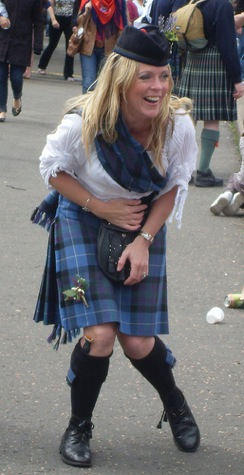 ladies kilt lady piper