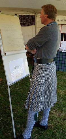 Northumberland kilt