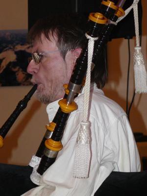 Burns night in Chamonix January 2009