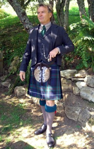 kilt wearers robert wearing one of his kilts