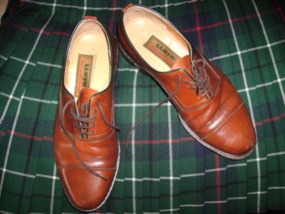 Kilt shoes for day wear