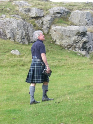 your kilt photos 2 Smailholm tower