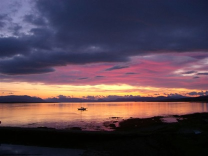 kilt Scotland photos skye sun rise 1