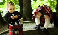 baby kilts toddlers wearing kilts
