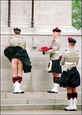 what men wear under the kilt
