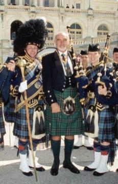 Tartan Day,Sean Connery attending a celebration in Washington DC.