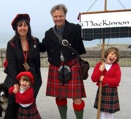 your kilt photos robert in his MacKinnon kilt