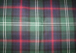 kilt pattern Sutherland tartan