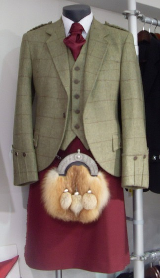 Argyle jacket
