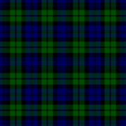 tartan photo of the Black Watch tartan