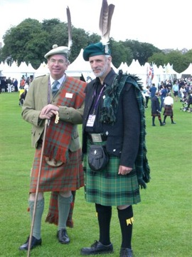 Scottish clans two clan chiefs