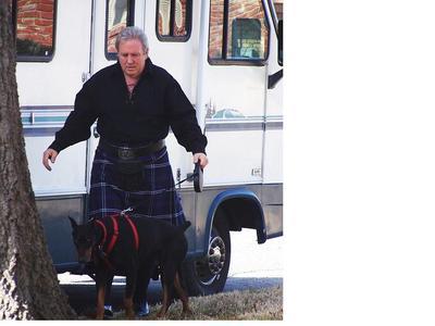 Heritage of Scotland kilt and gillie shirt