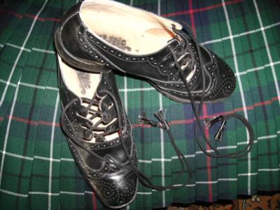 gillie Brogues formal kilt shoes