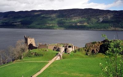 Highlands of Scotland Urquhart Castle