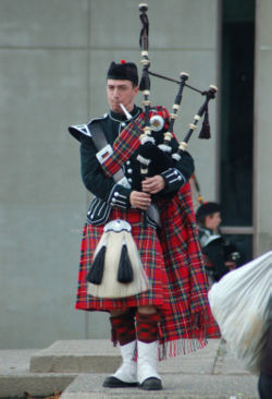 Scottish plaids
