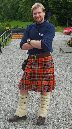 Scotland kilts