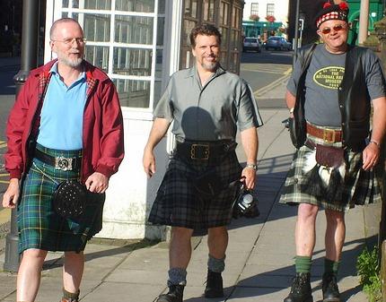 Scottish kilt buckle