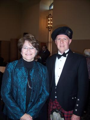 your kilt photos Bill and his wife