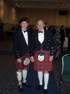 your kilt photos Bill and a friend